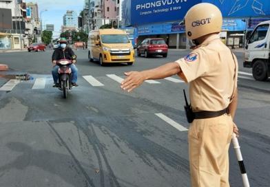 TP HCM: Tạm thời không xử phạt đối với trường hợp Giấy phép lái xe hết thời hạn sử dụng trong thời gian thực hiện giãn cách